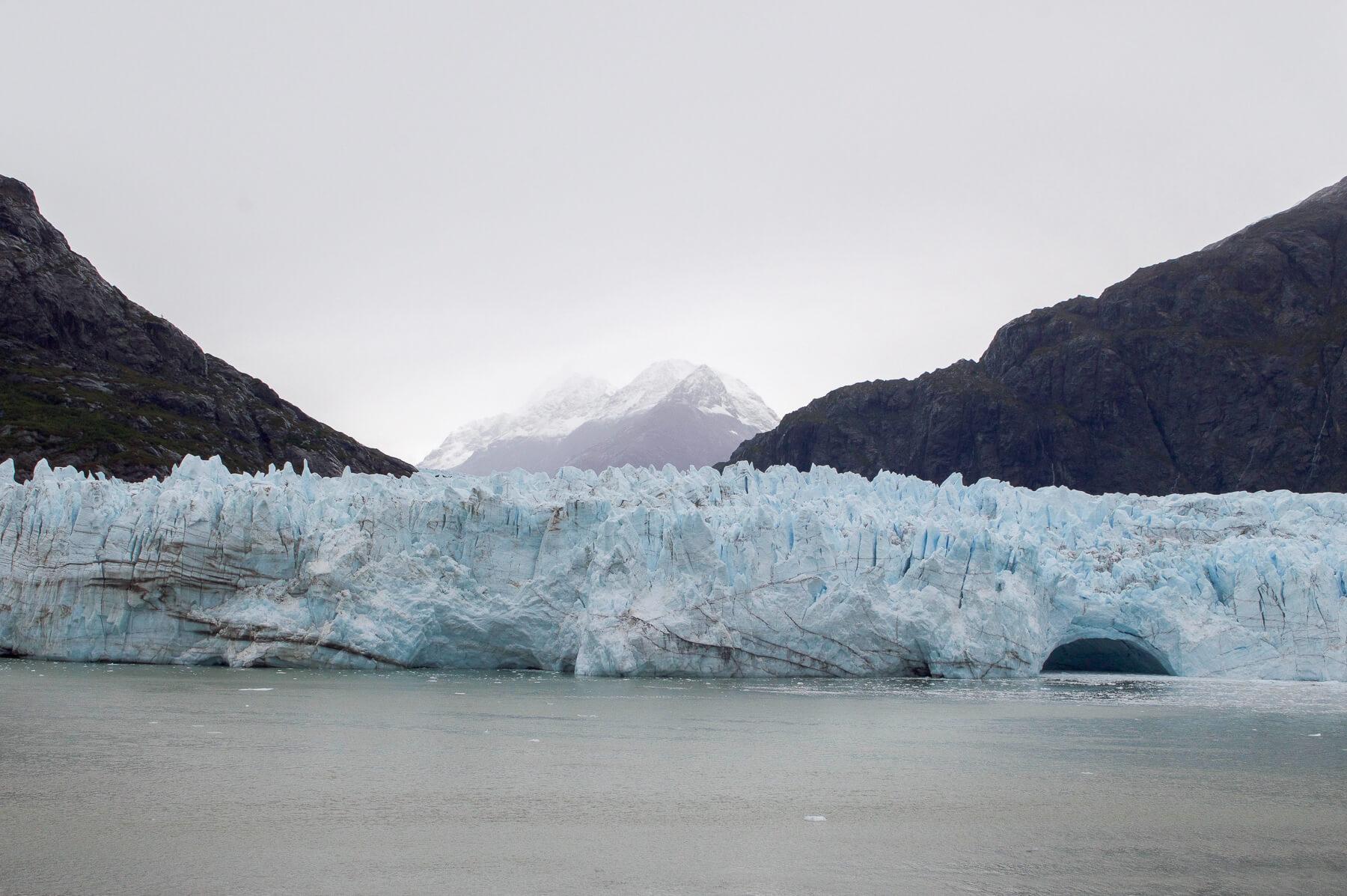 marjorie glacier and mountain