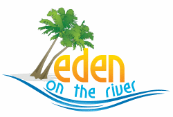 """eden on the river"" logo"